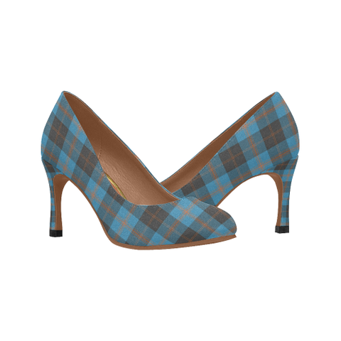 Image of Angus Ancient Plaid Heels
