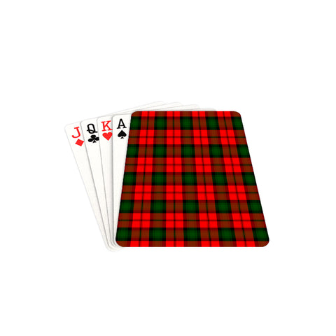 Image of Kerr Tartan Playing Cards TH8