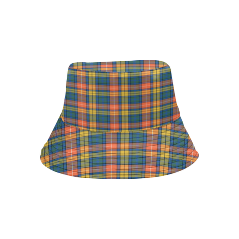 Buchanan Ancient Tartan Bucket Hat for Women and Men K7