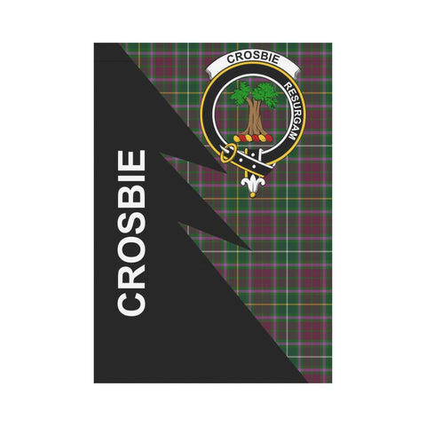 "Crosbie Tartan Garden Flag - Flash Style 28"" x 40"""