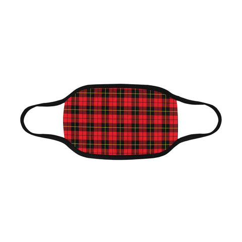 Wallace Hunting - Red Tartan Mouth Mask Inner Pocket K6 (Combo)