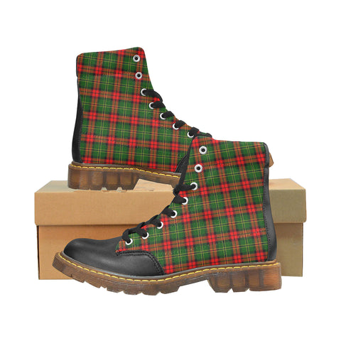 Image of Blackstock Tartan Apache Boots | Tartan Footwear | Over 500 Tartans & 300 Clans