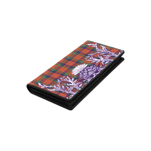 Image of Nicolson Ancient Tartan Wallet Women's Leather Wallet A91 | Over 500 Tartan