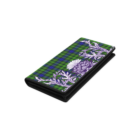 Image of Rollo Modern Tartan Wallet Women's Leather Wallet A91 | Over 500 Tartan