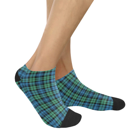 Campbell Ancient 01 Tartan Ankle Socks K7