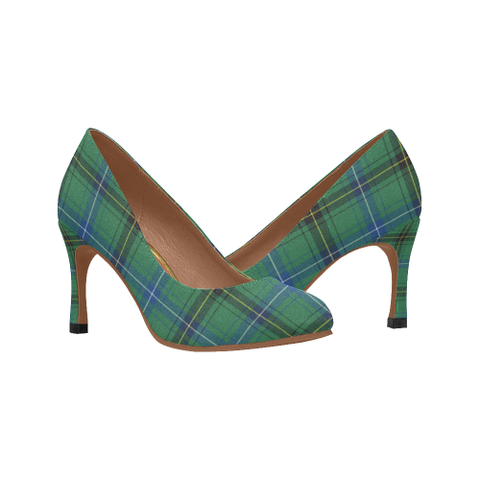 Henderson Ancient Tartan High Heels, Henderson Ancient Tartan Low Heels
