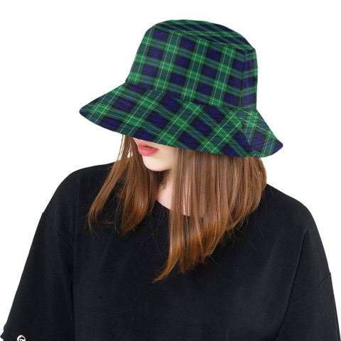 Image of Abercrombie Tartan Bucket Hat for Women and Men | Scottishclans.co