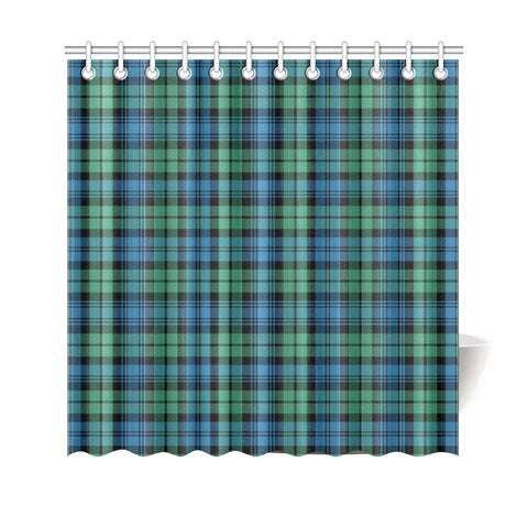 Tartan Shower Curtain - Campbell Ancient 01 A9
