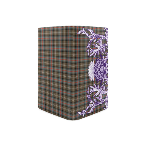Sutherland Weathered Tartan Wallet Women's Leather Thistle A91