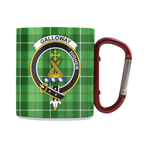 Galloway District Tartan Mug Classic Insulated - Clan Badge | scottishclans.co