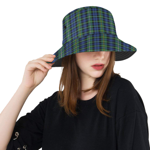 Campbell Argyll Ancient Tartan Bucket Hat for Women and Men | Scottishclans.co