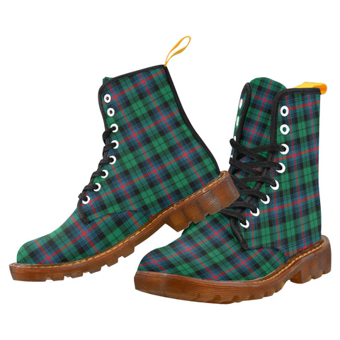 Urquhart Broad Red Ancient  Martin Boot | Scotland Boots | Over 500 Tartans