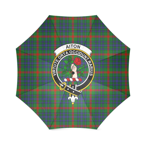 Image of Aiton Crest Tartan Umbrella TH8