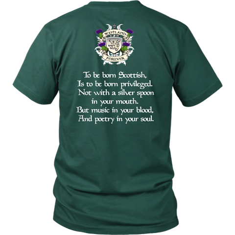Jardine Tartan T-Shirt - Scottish Proverb