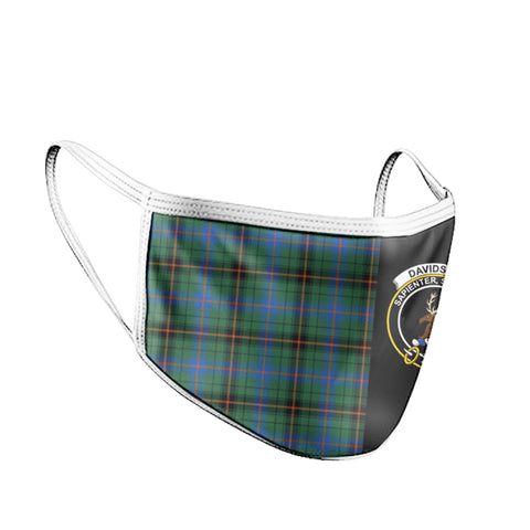 Davidson Ancient  Tartan Mouth Mask The Half Th88