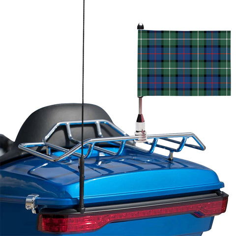 Davidson of Tulloch  Clan Tartan Motorcycle Flag
