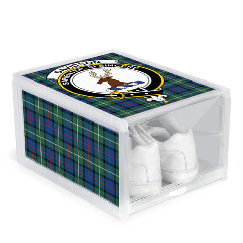 Davidson of Tulloch  Clan Crest Tartan Scottish Shoe Organizers