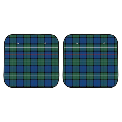 Davidson of Tulloch  Clan Tartan Scotland Car Sun Shade 2pcs K7
