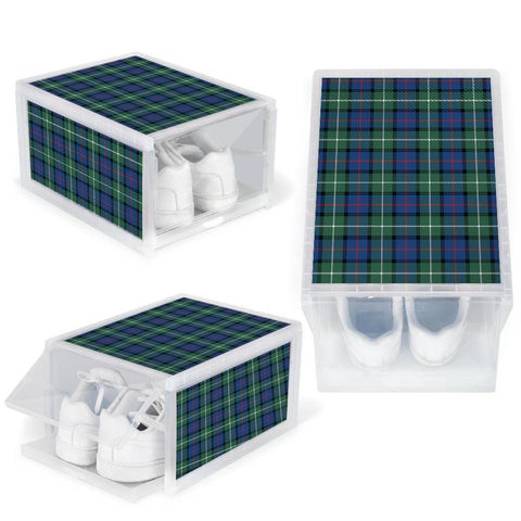 Davidson of Tulloch  Clan Tartan Scottish Shoe Organizers K9