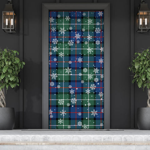Davidson of Tulloch  Christmas Tartan Door Sock Cover