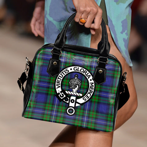 Donnachaidh Tartan Clan Shoulder Handbag | Special Custom Design