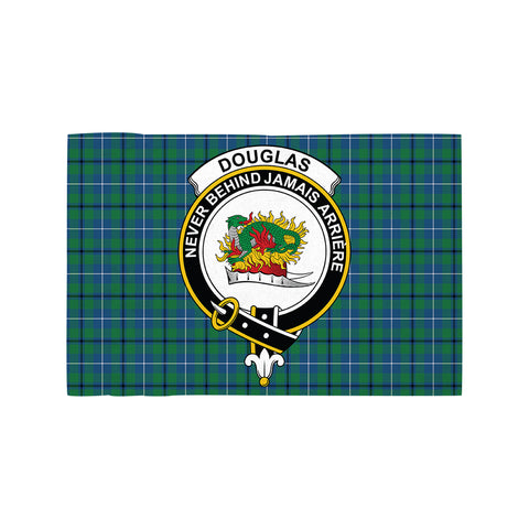 Image of Douglas Ancient Clan Crest Tartan Motorcycle Flag