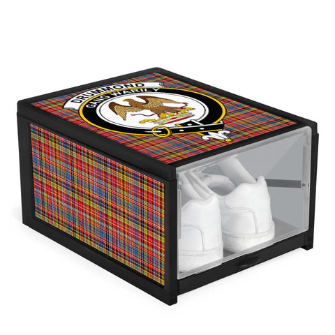 Image of Drummond of Strathallan Clan Crest Tartan Scottish Shoe Organizers K9