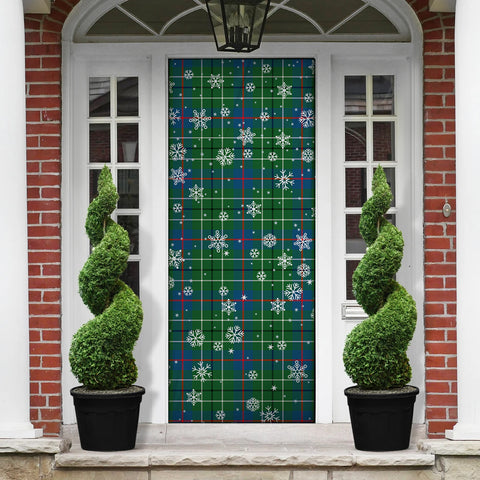 Image of Duncan Ancient Christmas Tartan Door Sock Cover