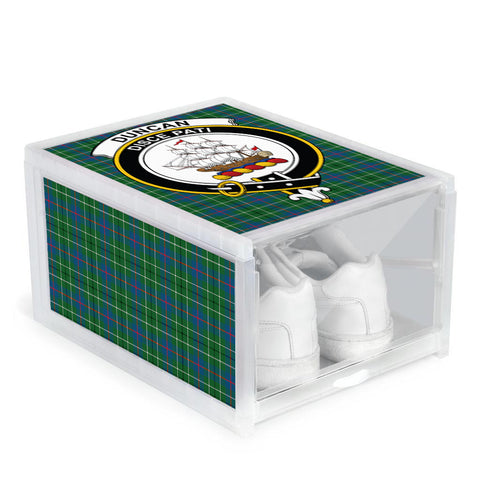 Duncan Ancient Clan Crest Tartan Scottish Shoe Organizers