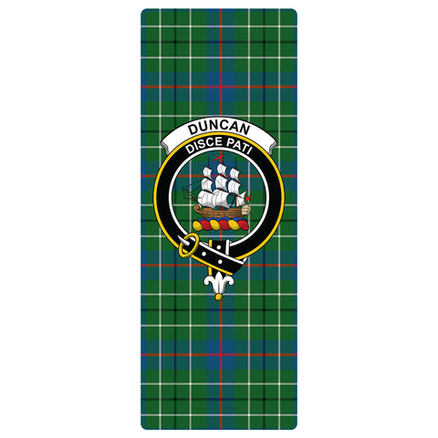 Image of Duncan Ancient Clan Crest Tartan Yoga mats