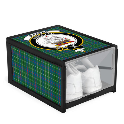 Duncan Ancient Clan Crest Tartan Scottish Shoe Organizers K9