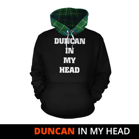 Duncan Ancient In My Head Hoodie Tartan Scotland K9