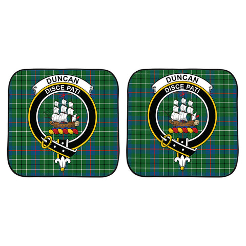 Duncan Ancient Clan Crest Tartan Scotland Car Sun Shade 2pcs K7