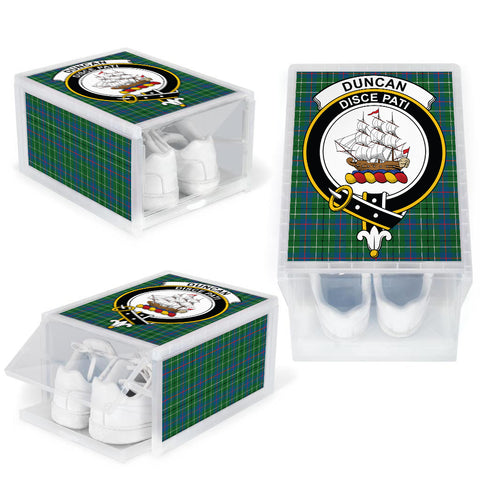 Image of Duncan Ancient Clan Crest Tartan Scottish Shoe Organizers K9
