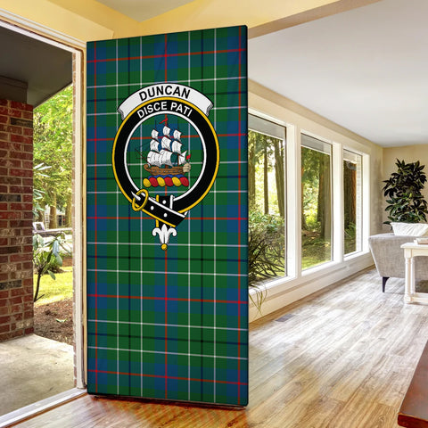 Duncan Ancient Tartan Door Sock Cover