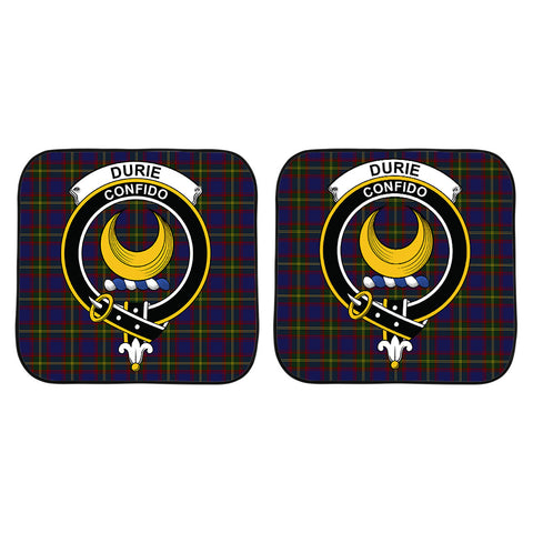 Durie Clan Crest Tartan Scotland Car Sun Shade 2pcs K7