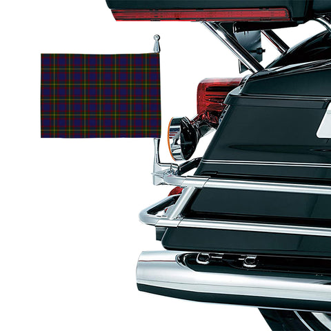 Image of Durie Clan Tartan Motorcycle Flag
