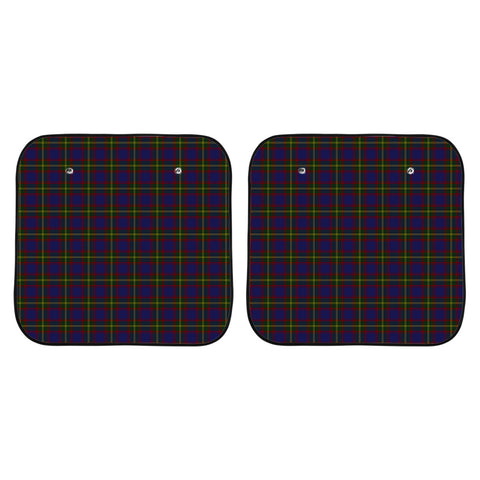 Durie Clan Tartan Scotland Car Sun Shade 2pcs K7