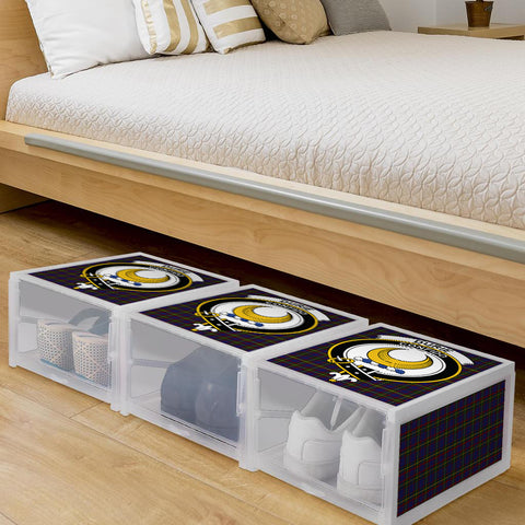 Durie Clan Crest Tartan Scottish Shoe Organizers K9