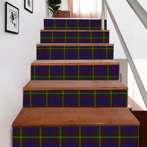 Image of Scottishshop Tartan Stair Stickers - Durie Stair Stickers A91