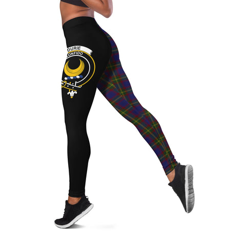 Durie Crest Tartan Leggings | Over 500 Tartans | Special Custom Design
