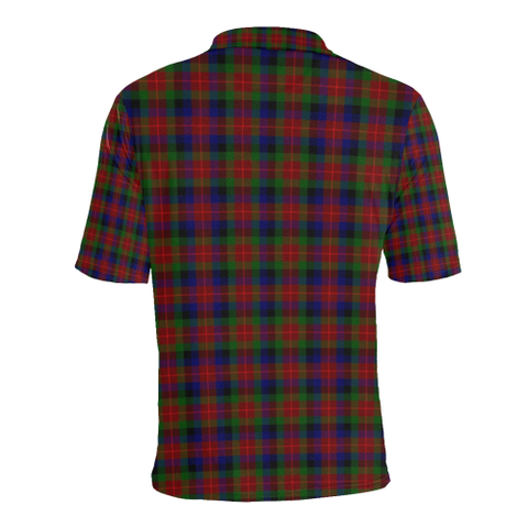 Tennant Tartan Clan Badge Polo Shirt HJ4
