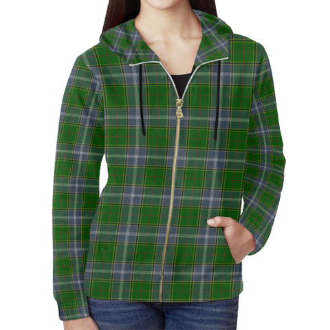 Pringle Tartan Zipped Hoodie | Special Custom Products