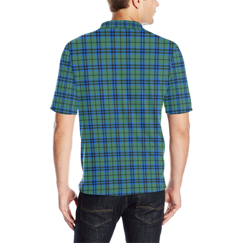 Image of Falconer  Tartan Polo Shirt HJ4