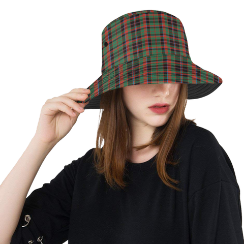 Cumming Hunting Ancient Tartan Bucket Hat for Women and Men | Scottishclans.co