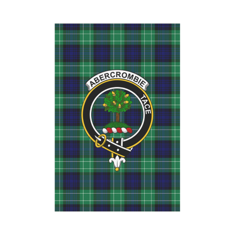 Abercrombie Tartan Flag Clan Badge | Scottishclans.co