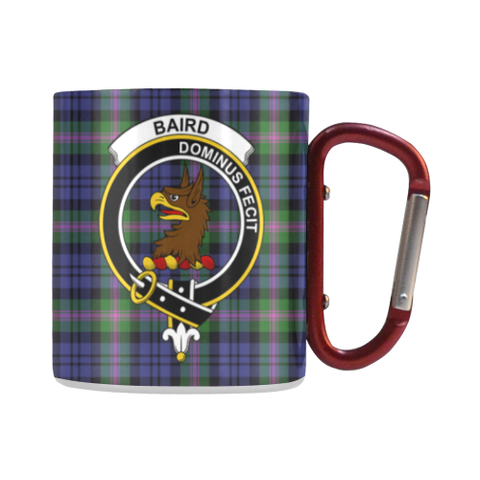 Image of Baird Modern  Tartan Mug Classic Insulated - Clan Badge | scottishclans.co