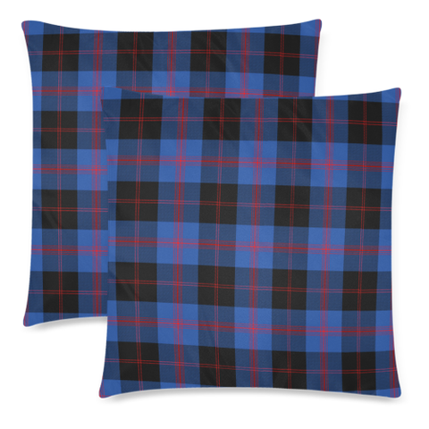 Image of Angus Modern decorative pillow covers, Angus Modern tartan cushion covers, Angus Modern plaid pillow covers