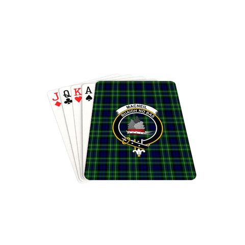 MacNeil of Colonsay Modern Tartan Clan Badge Playing Card TH8