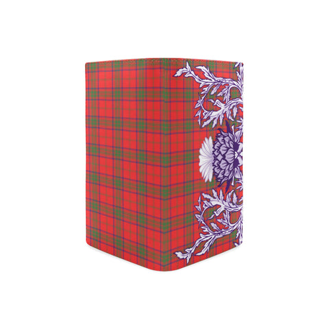 Ross Modern Tartan Wallet Women's Leather Thistle A91